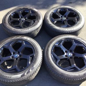 """20"""" land range rover Black Wheels Pirelli Tires LR3 / LR4 / sport / HSE / discovery 5 Installation available for Sale in Diamond Bar, CA"""