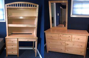 Dresser, Night Stand, Desk, Hutch - Bedroom Set for Sale in Alexandria, VA