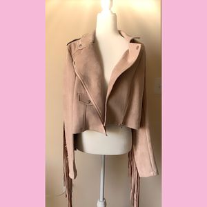 Missguided fringe suede jacket for Sale in Chula Vista, CA