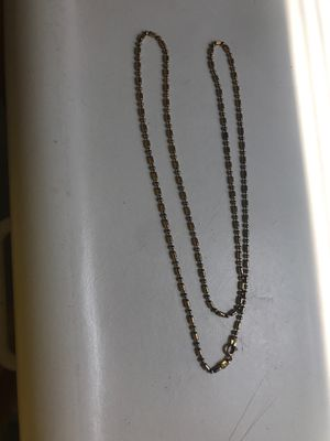 24 inch sterling silver chain for Sale in Yalesville, CT