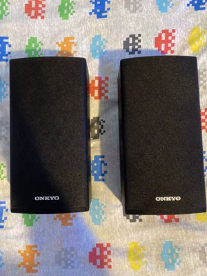 Onkyo (Bookshelf's speakers). for Sale in Stockton, CA