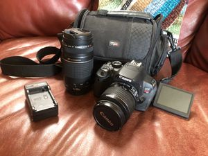 Canon T4i + 18-55mm + 70-300mm Lenses for Sale in Loomis, CA