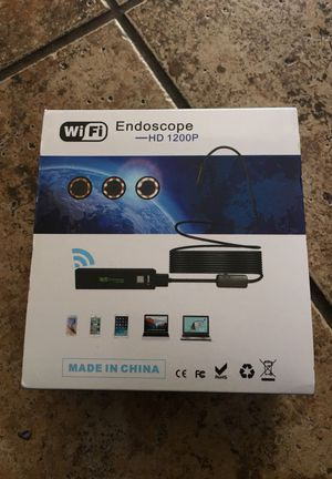 WiFi endoscope had 1200p for Sale in San Diego, CA