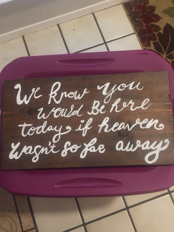 Wedding and party signs