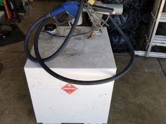 50 Gallon Fuel Tank with GPI electric fuel pump for Sale in Sandy,  OR