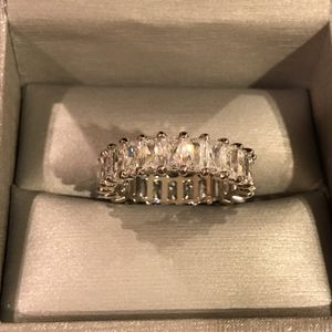Unisex 💍 18K Gold plated Engagement Ring- Multi m-Adjacent Rhombus Radiant for Sale in Houston, TX