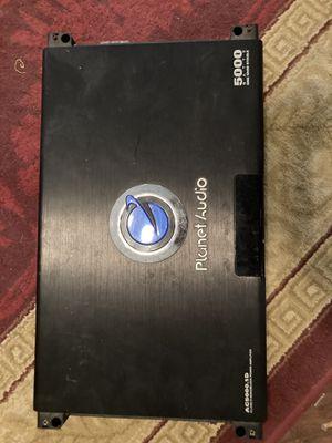 5000 watt planet audio amp for Sale in Plano, TX