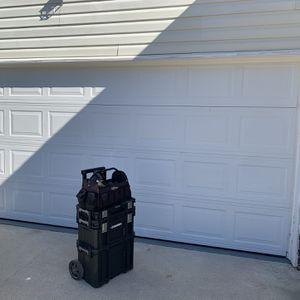 16x7 White garage Door for Sale in Morrow, GA