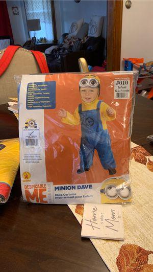 Minion 12 -24 months costume for Sale in Longmeadow, MA