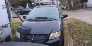 2006 Blue Dodge Grand Caravan as is needs an alternator, registration, inspection and is towable for Sale in Dallas, TX