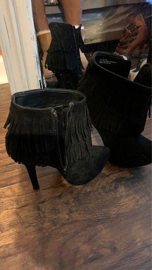 Sexy Sophisticated!!!!! Black half Boots 6.1/2 Brand new !!!!! Great deal $8 for Sale in College Park, GA