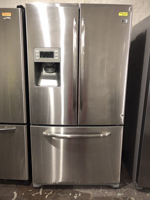 Ge profile stainless steel French door refrigerator for Sale in Lexington, NC