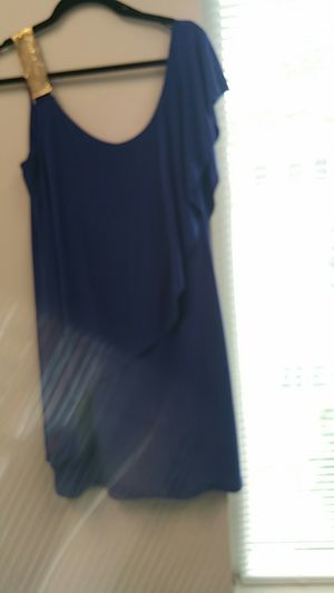Beautiful Blue Dress Size 12 for Sale in MONTGOMRY VLG, MD