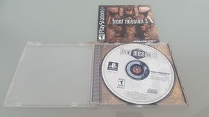 Front mission 3 ps1 for Sale in San Diego, CA