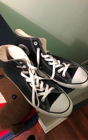 Black Converse 9.5 Men for Sale in Oaklyn, NJ