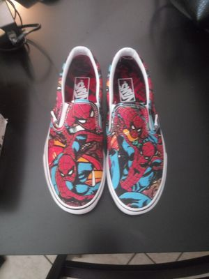 Spider-Man Slip on vans for Sale in Vidor, TX