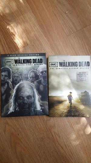 walking dead complete season1&2 for Sale in Tampa, FL