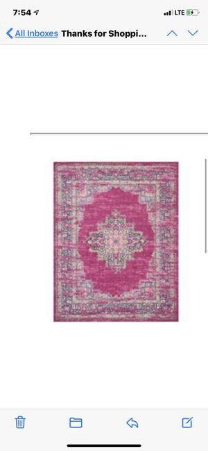 Beautiful 6x10 area rug for Sale in Forestville, MD