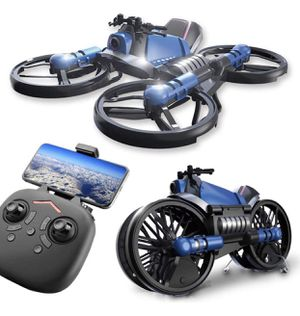 Kikole 2.4G Deformation Motorcycle Folding Quadcopter Drone Double Mode Quadcopters for Sale in Fort Lauderdale, FL