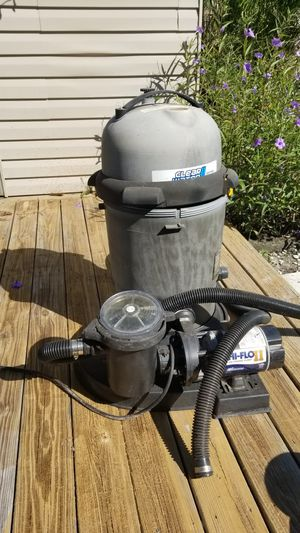 Pool pump for above ground for Sale in Palm Harbor, FL