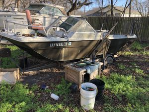 Outboard boat with no motor for Sale in Cibolo, TX
