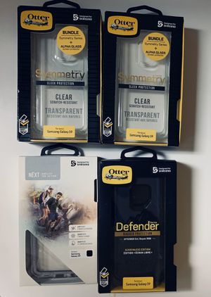 Galaxy S9 Otterbox lifeproof lot for Sale in Indianapolis, IN