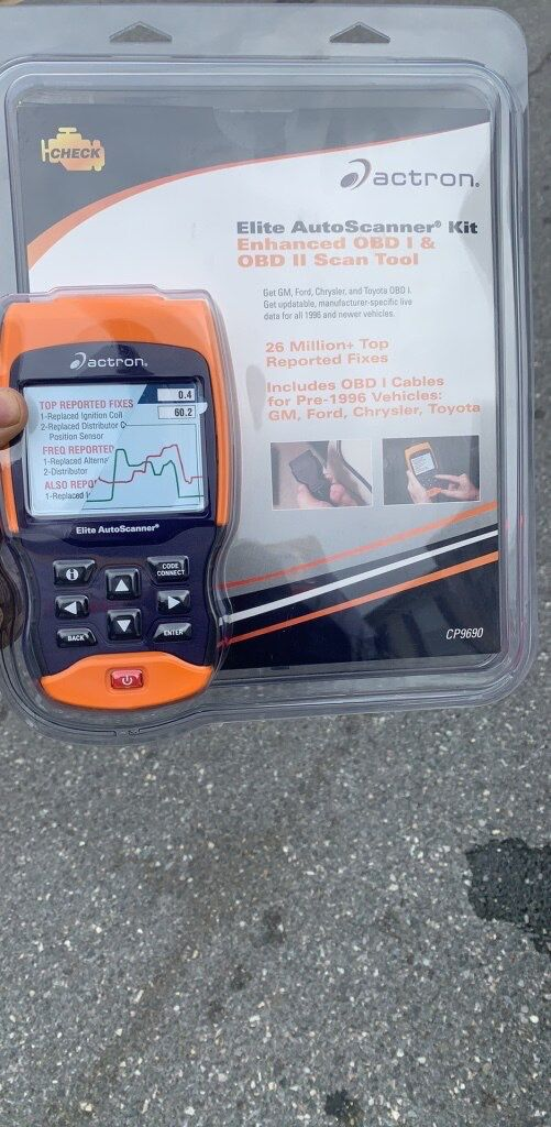 Action OBD scanner part# CP9690 retail $300 selling for $160
