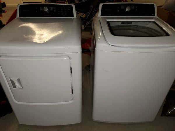 Frigidaire washer and electric dryer