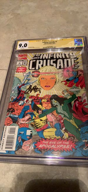Infinity Crusade #5 cgc 9.0 signed by Jim Starling for Sale in Lubbock, TX