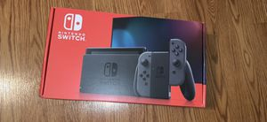New Nintendo switch grey in hand for Sale in Johns Creek, GA