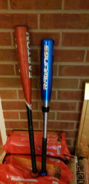 Easton/Rawlings kids baseball bats for Sale in Nashville, TN