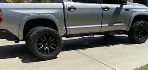 "35"" rims and tires off of 2014 Tundra for Sale in Manteca, CA"