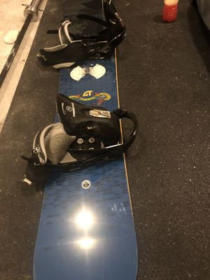 GNU snowboard with bindings and boots for Sale in Marysville, WA