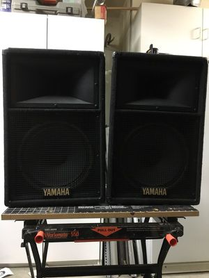 Yamaha s112 IV speakers for Sale in North Las Vegas, NV
