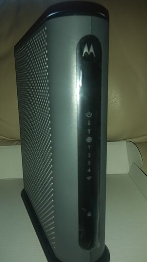 Motorola MG7310 modem+router for Sale in San Mateo, CA