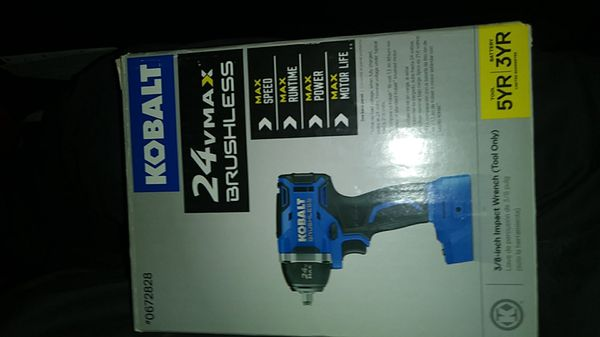 Kobalt 3/8 impact wrench