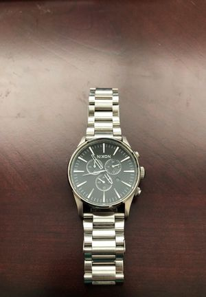 Nixon Sentry Chrono 100mm stainless steel for Sale in Tallahassee, FL