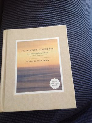 The Wisdom of Sundays by Oprah Winfrey for Sale in Wheeling, WV