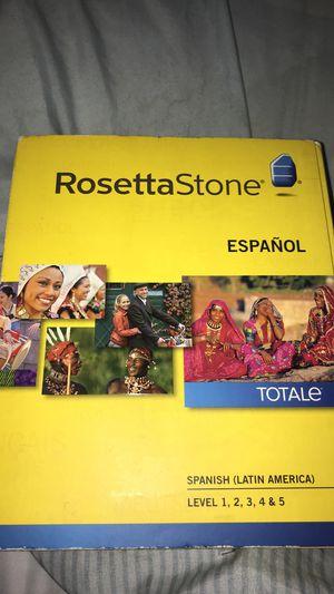 Rosetta Stone- Spanish for Sale in Danielson, CT