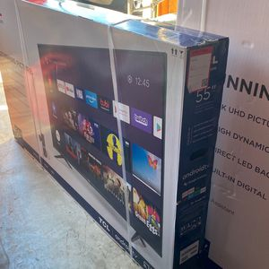 """TCL 55"""" 4-Series Android smart TV new in box for Sale in El Cajon, CA"""