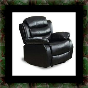 Black recliner chair for Sale in Chevy Chase, MD