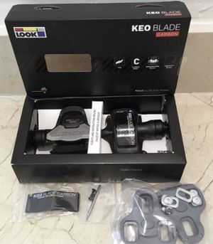 New Look Keo Blade CARBON 8 Nm and 12 Nm Road Bike Pedals for Sale in Miami, FL