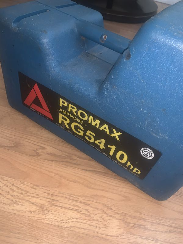 Promax RG5410hp freon recovery unit