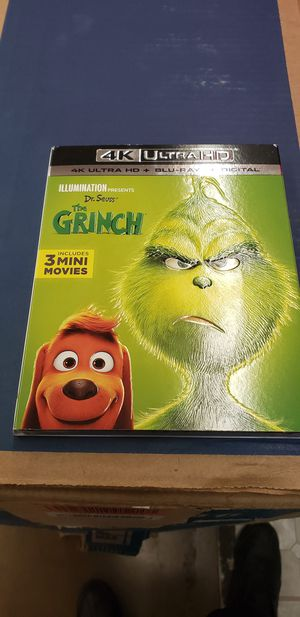 4k Ultra HD THE GRINCH for Sale in Rancho Cucamonga, CA