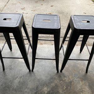 Metal Bar Stools High Backless Stools for Sale in Douglasville, GA