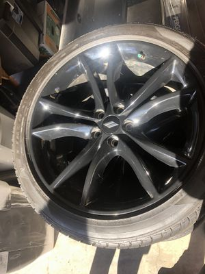 """20"""" Dodge Challenger charger rims wheels and tires for Sale in Mentone, CA"""