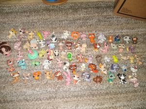 Littlest pet shops 70 figs plus accessories $30 cash for all 75th avenue and Indian School for Sale in Phoenix, AZ