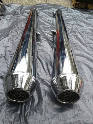 Triumph BSA Norton custom dunstall motorcycle mufflers for Sale in Belleview, FL