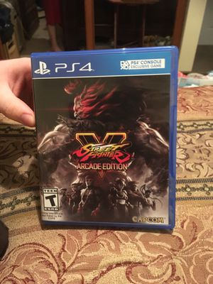 PS4 Street Fighter Arcade Edition for Sale in Orient, OH