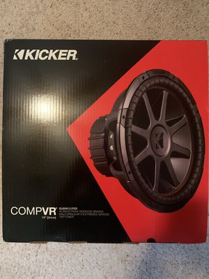 "*BRAND NEW* Kicker CompVR 15"" subwoofer for Sale in Montgomery, AL"